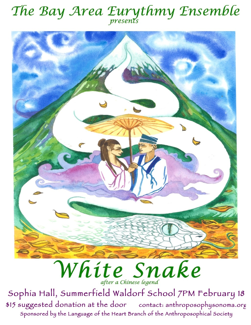White Snake poster LOHB